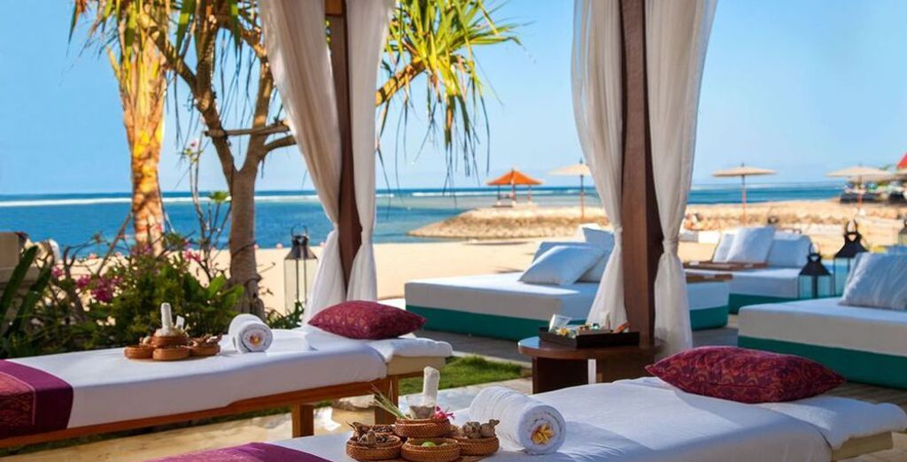 Where our members can enjoy a welcome massage on arrival