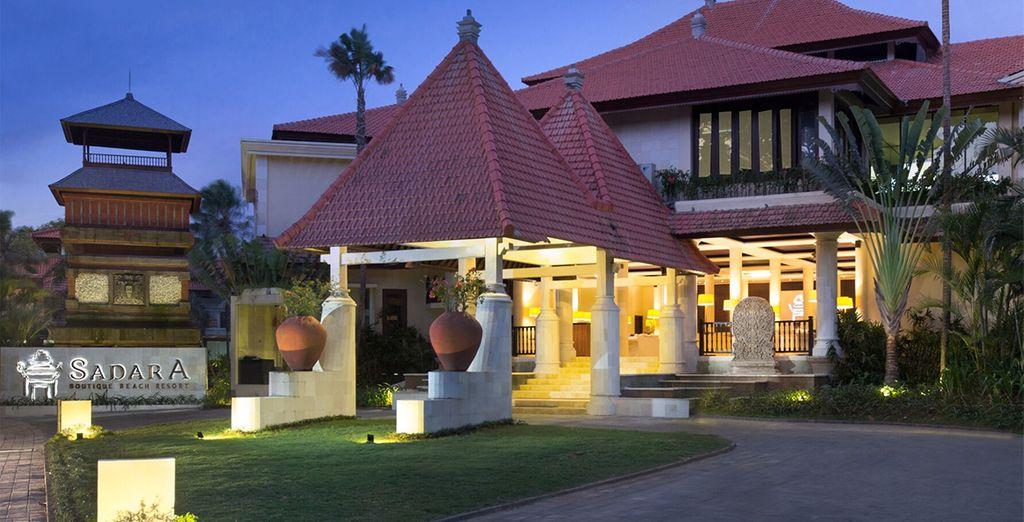 To the 5* Sadara Boutique Beach Resort