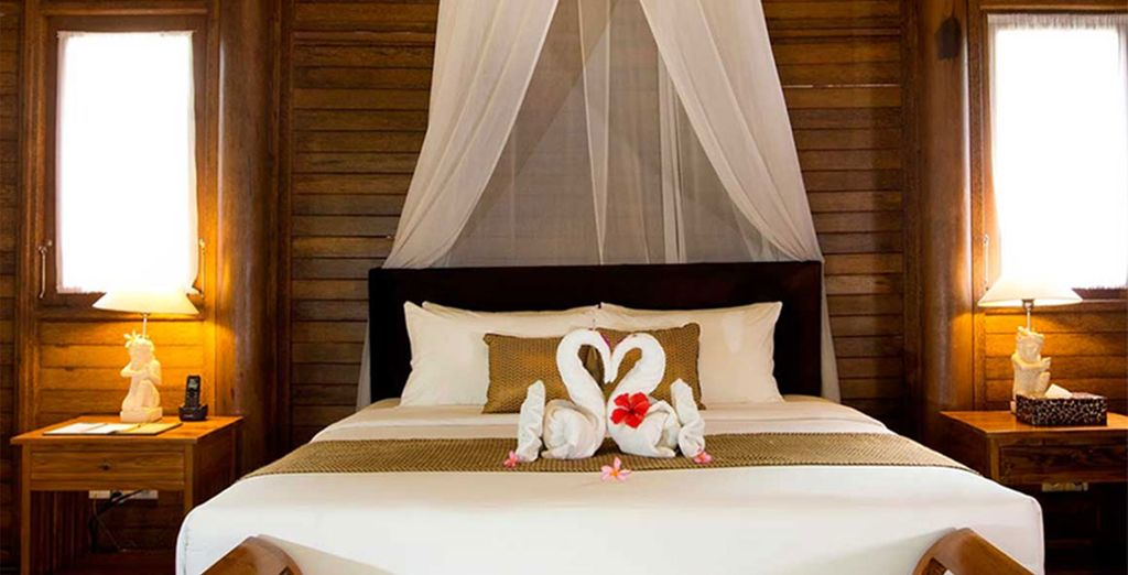 Enjoy a 3 or 4 night stay here in a Grand Deluxe Room...