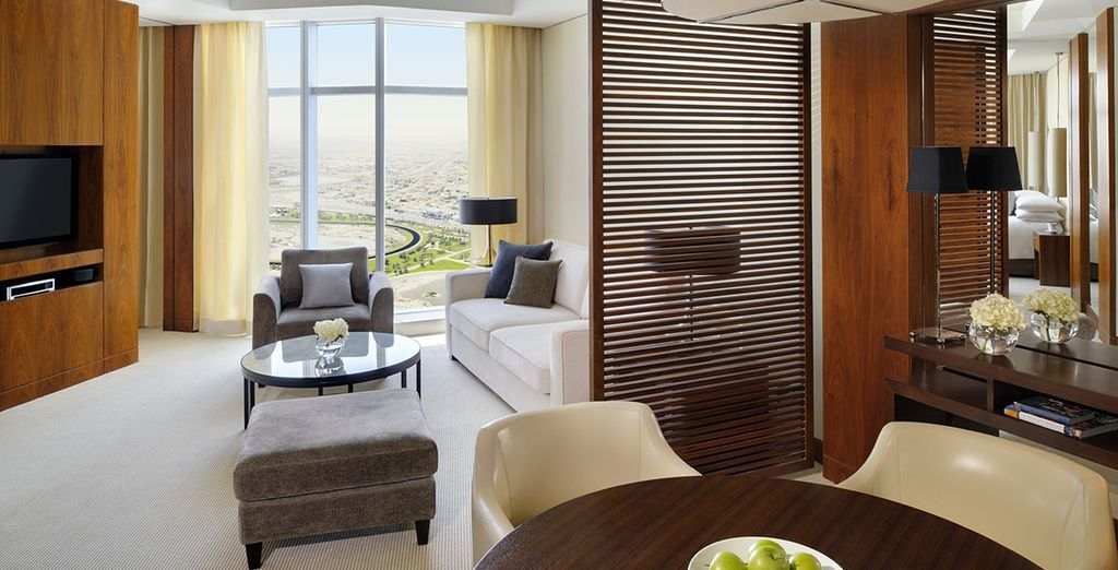 Where you'll spend 3 nights in a Corner Suite