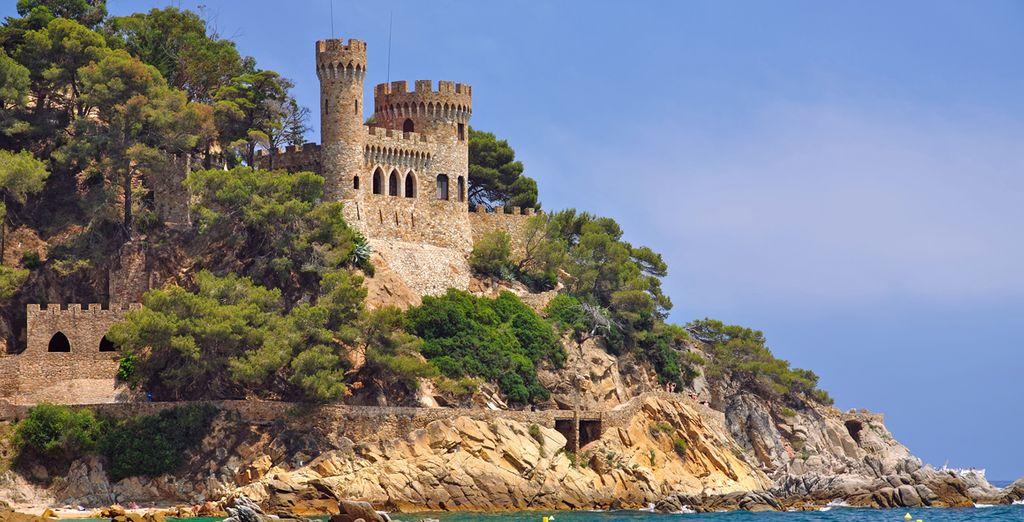 Enjoy the wonderful views of the Costa Brava.