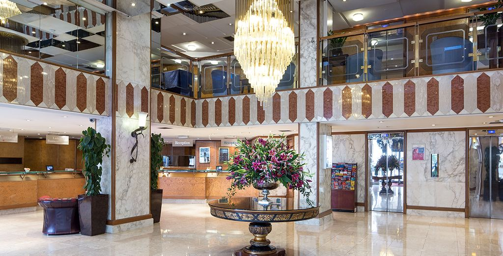 Welcome to the Danubius Hotel in Regents Park