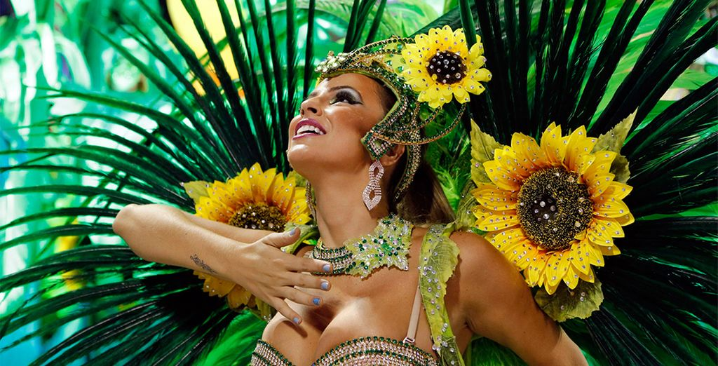 Experience the inimitable energy of Brazil