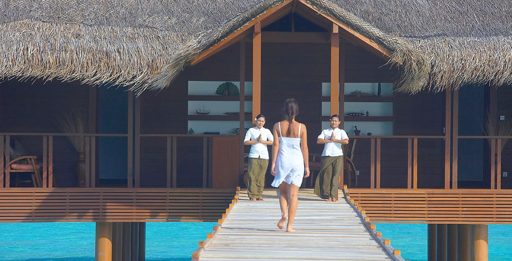 Or wind down with a visit to the spa...