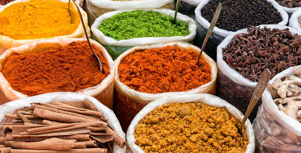 And aromatic spice plantations