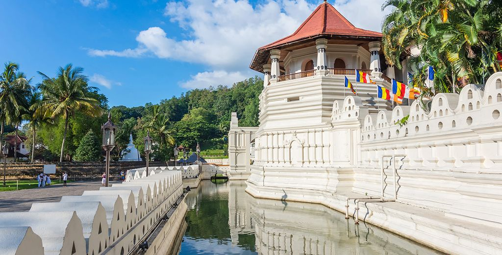 And admire ancient monuments in the royal city of Kandy