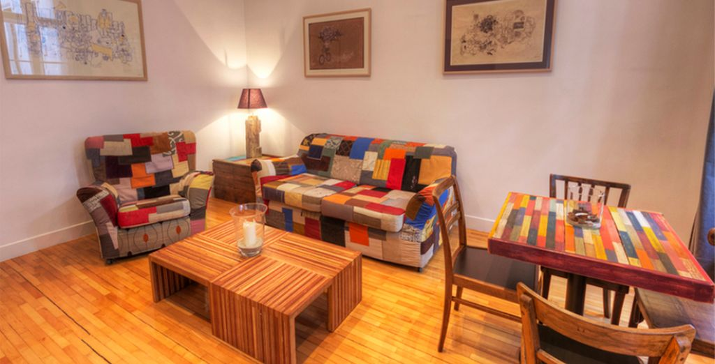 With fun and colourful interiors