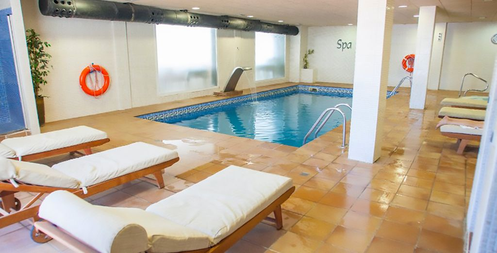 While you retreat to the spa!