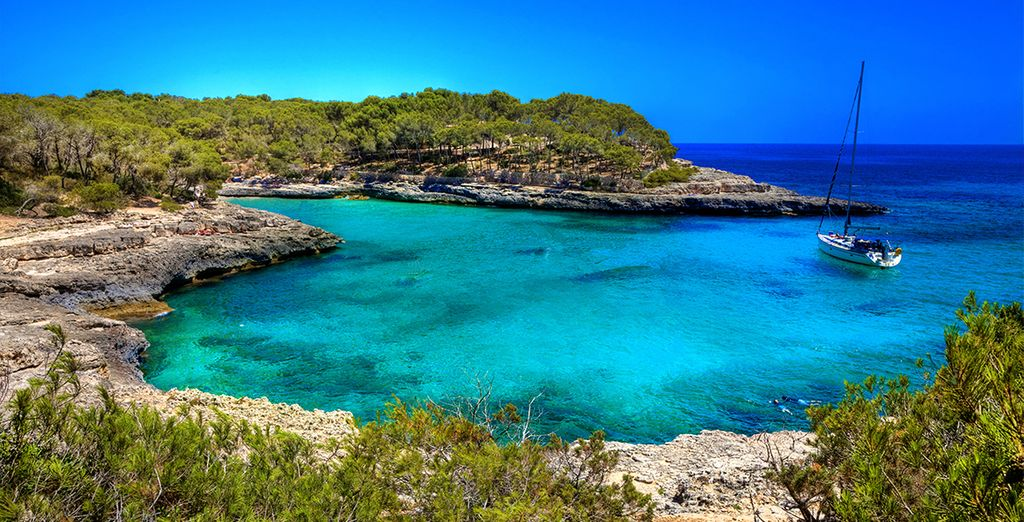 You will fall in love with the island of Mallorca ...