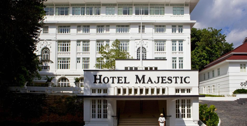 Stay at the 5* Majestic Hotel Kuala Lumpur for 2 nights