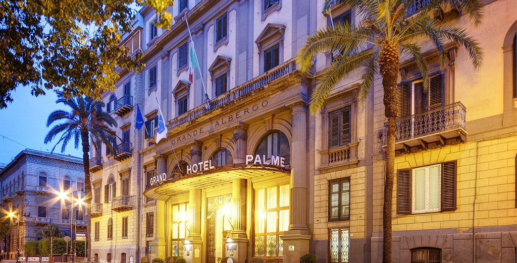 Welcome to the Grand Hotel et des Palmes