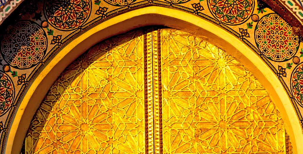 Discover its ornate, gold gilded doors