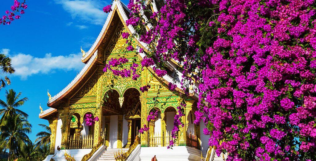And man made icons (Royal Palace Luang Prabang)