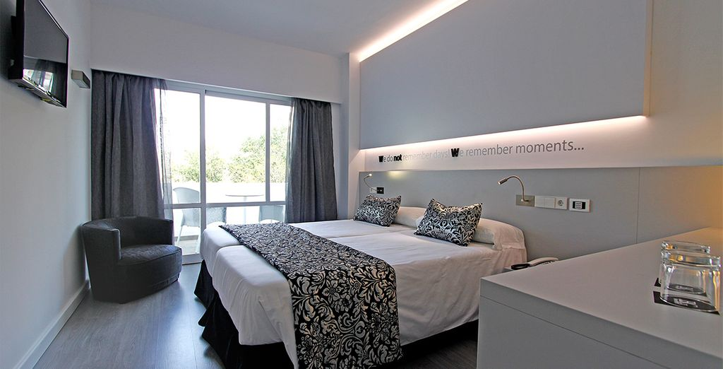 Stay in either a Standard Room
