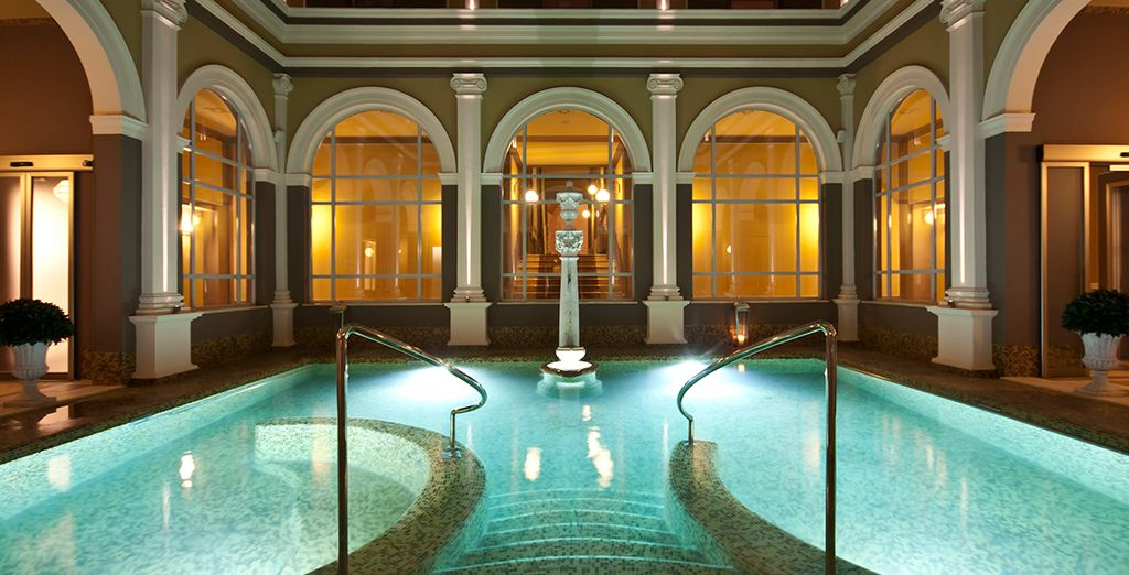 A luxurious thermal spa resort...