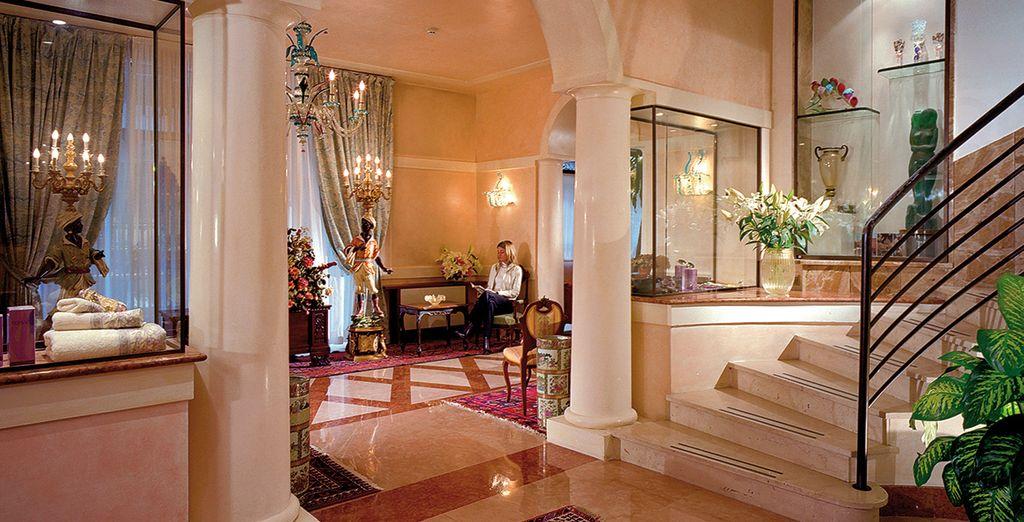 Where elegant interiors welcome you