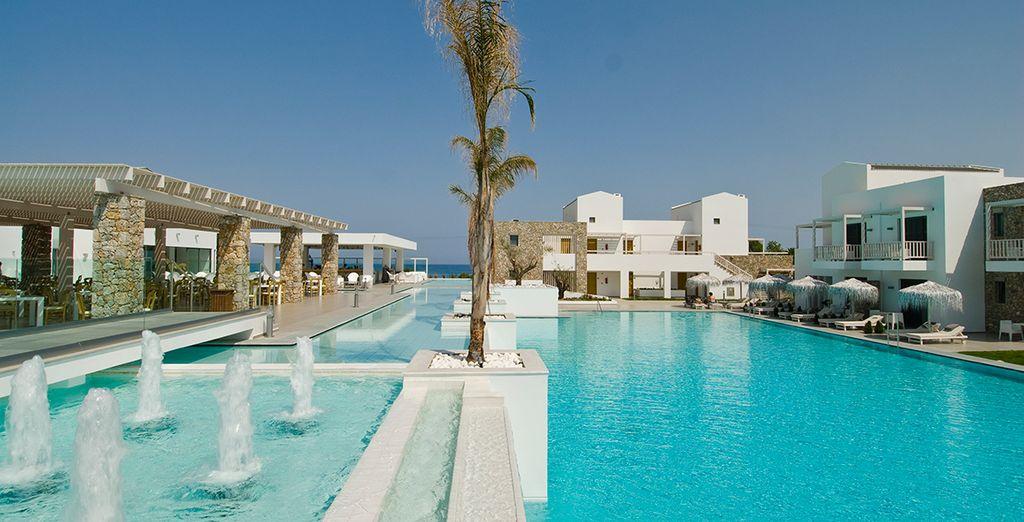 A magnificent modern resort