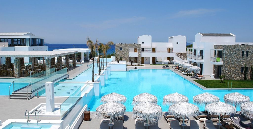 Or relax by the pool...