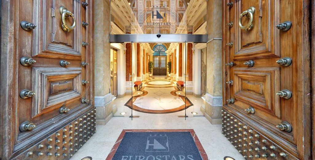 Discover the Eurostars International Palace Rome ...