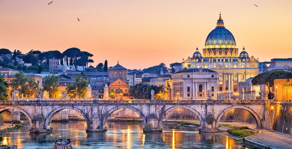 Be seduced by the wonders of the Eternal City.