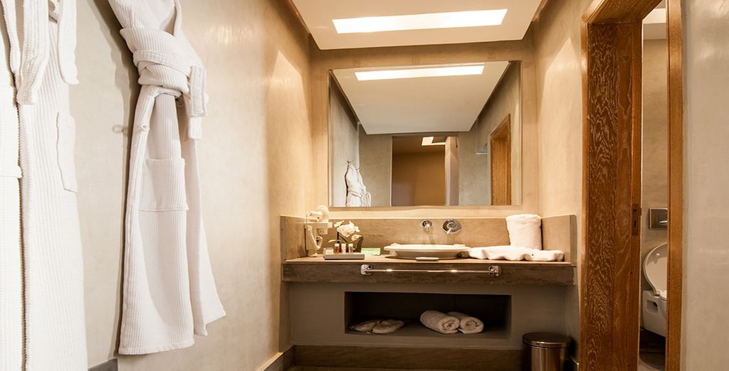 As well as luxury amenities for a comfortable stay
