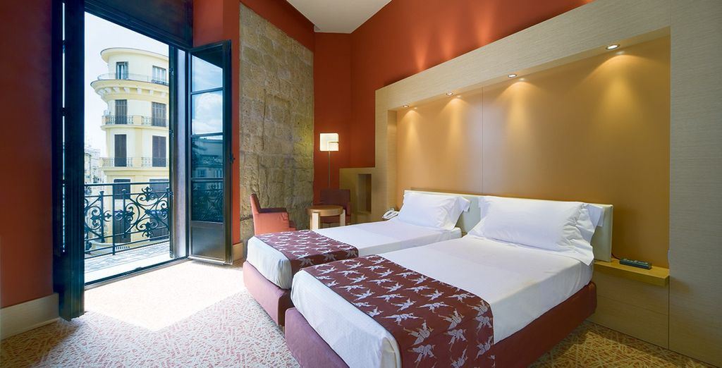 Where you can enjoy an upgraded Superior Room