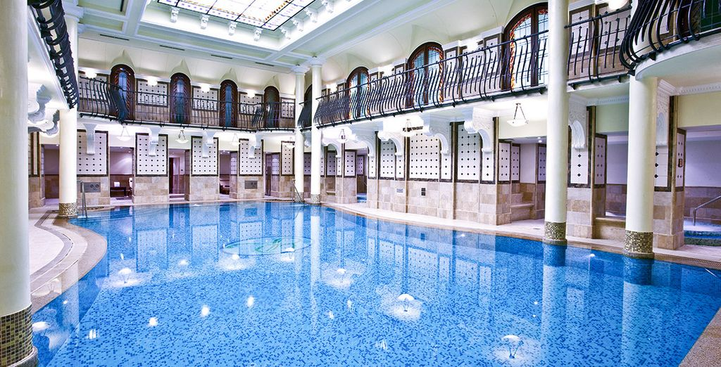 The pool is incredible, perfect for a brisk swim to start or finish your day