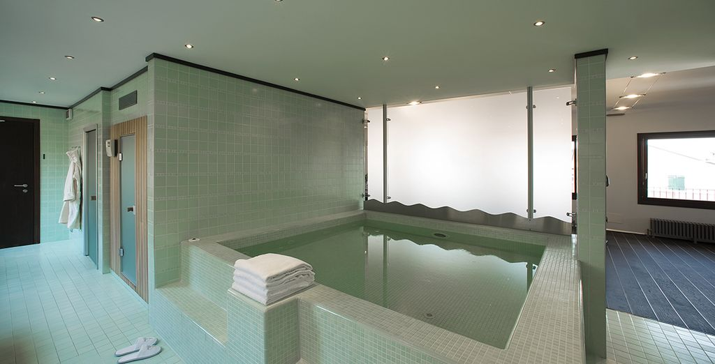 Then return for a soak in the jacuzzi