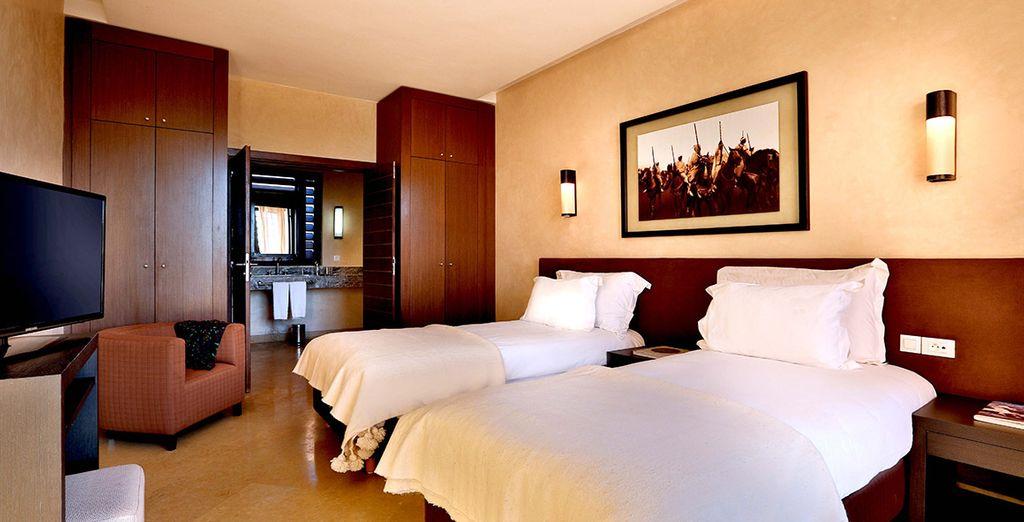 Choose from  a 2 Bedroom Villa
