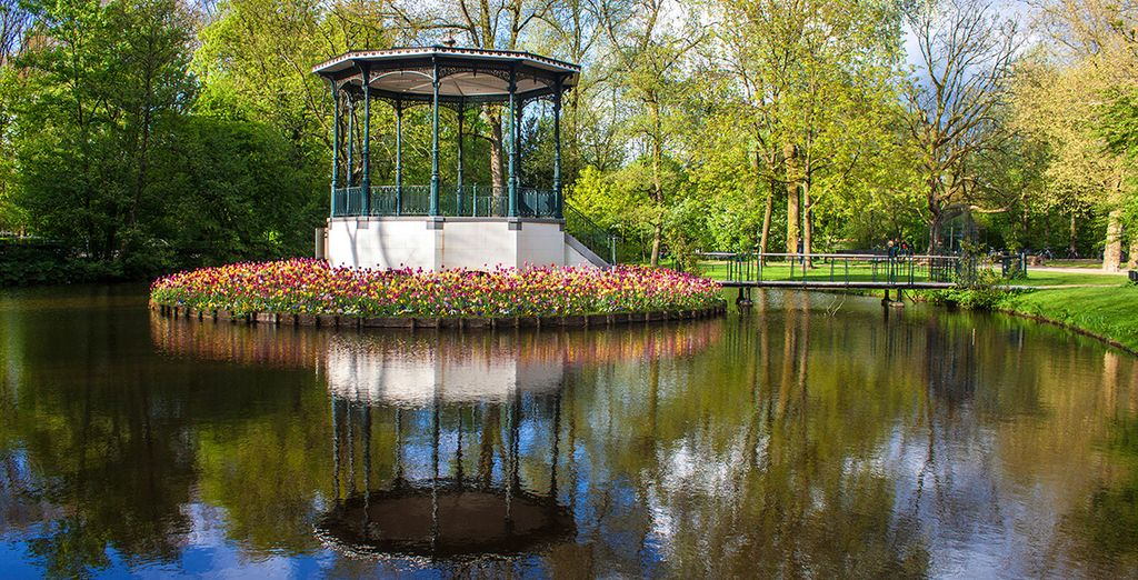 And retreat to the peace and beauty of the nearby Vondelpark