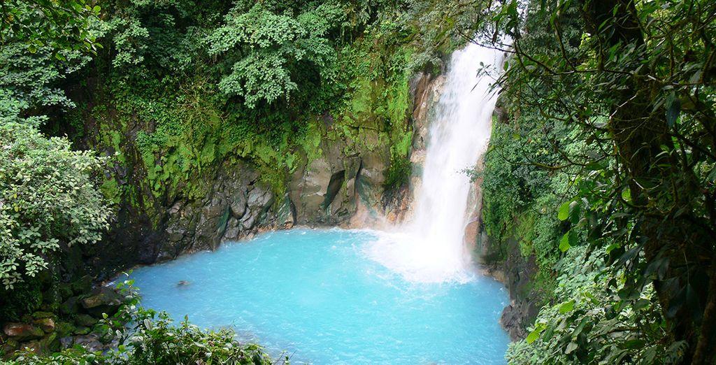 To impressive waterfalls