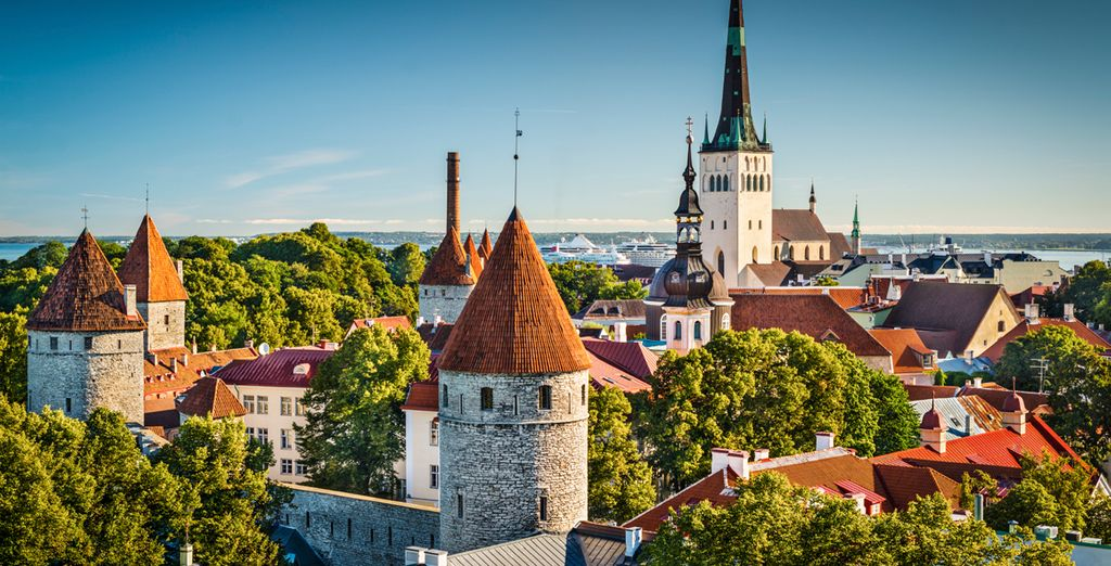 Your last stop is Estonia's capital, Tallinn