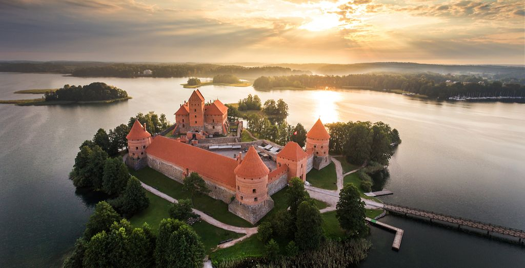 And the enchanting Trakai Island Castle