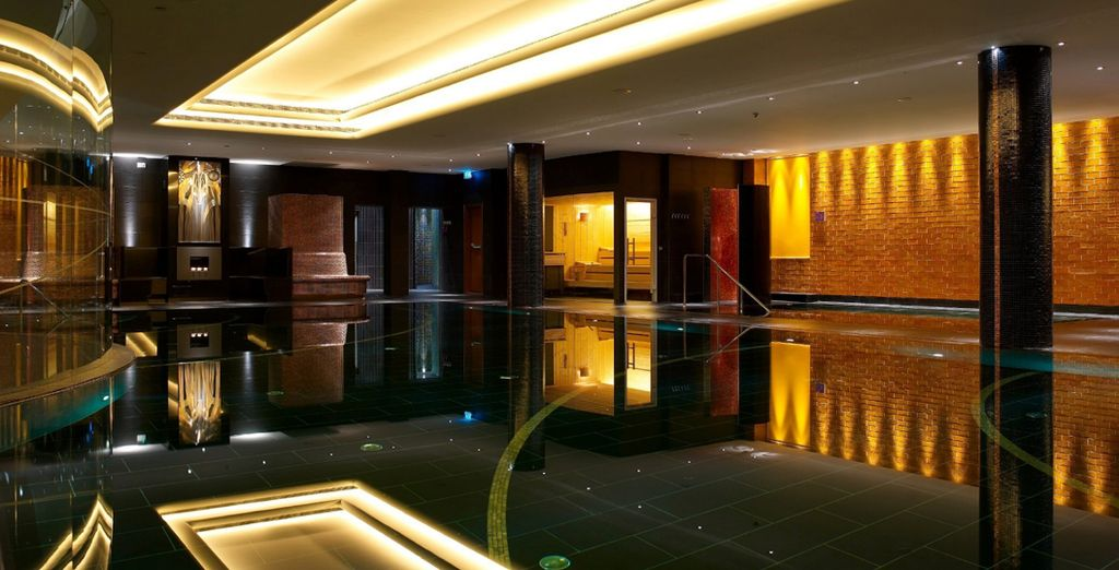 And relaxing facilities to make use of (pictured: Radisson Blu Latvija)