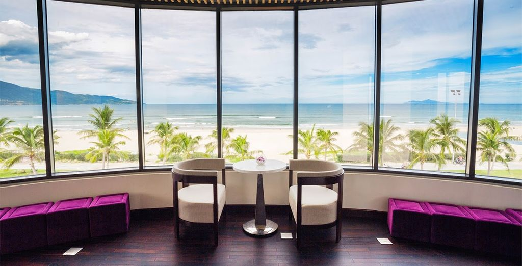 On this exciting food, spa and beach tour