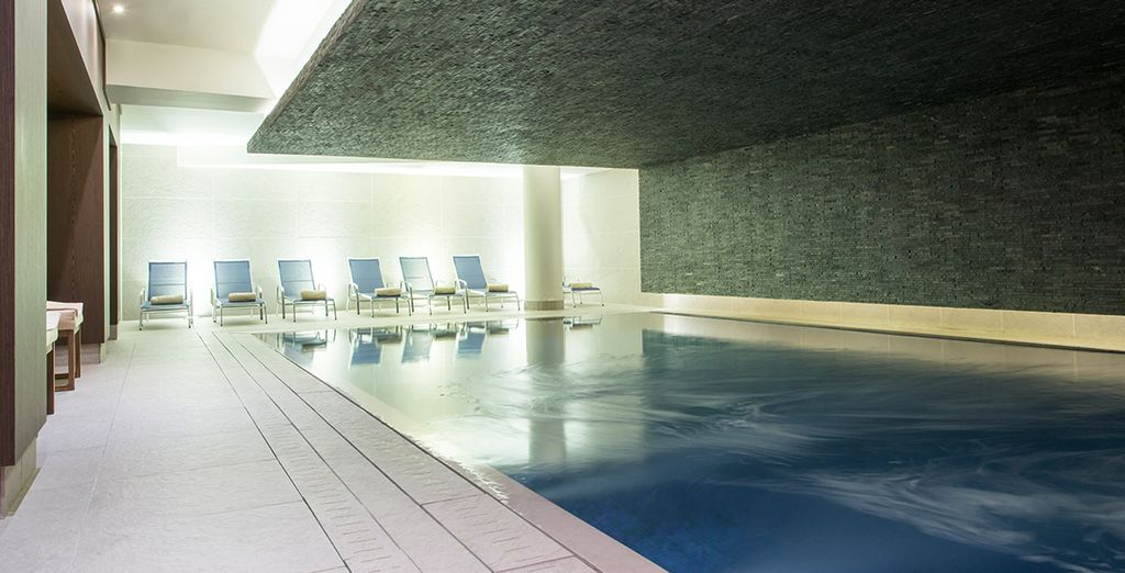 Pamper youself in the spa - you have free access!