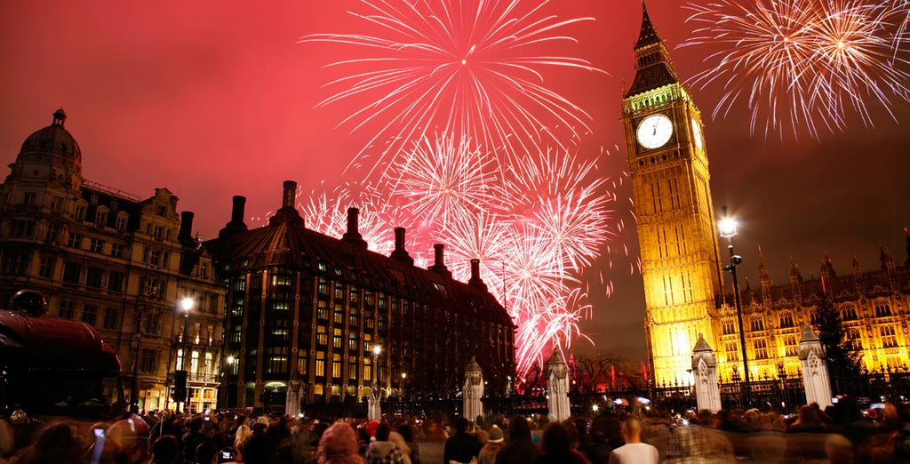 Celebrate the new year in the vibrant capital