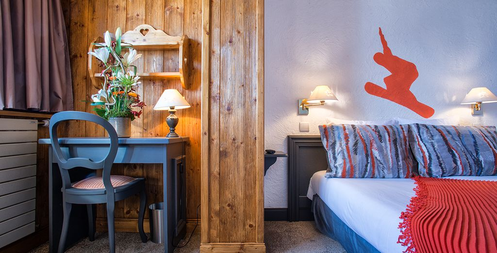 Welcome to the Courcheneige 3*, a newly renovated, cosy hotel