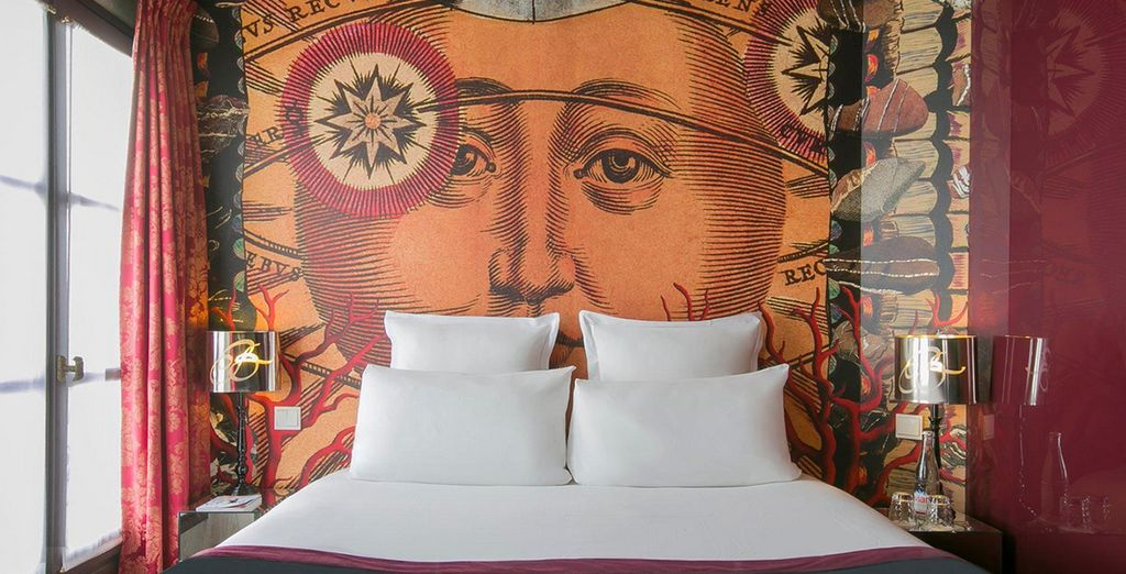 Welcome to the unique design of Le BelleChasse Hotel