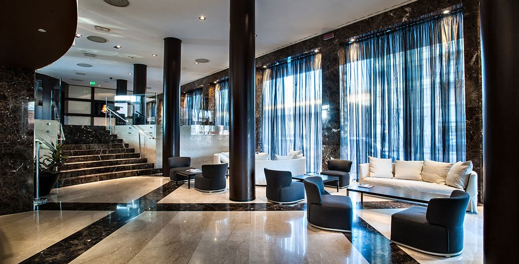 At the Crowne Plaza Milan City - a 4 star hotel with an unbeatable location