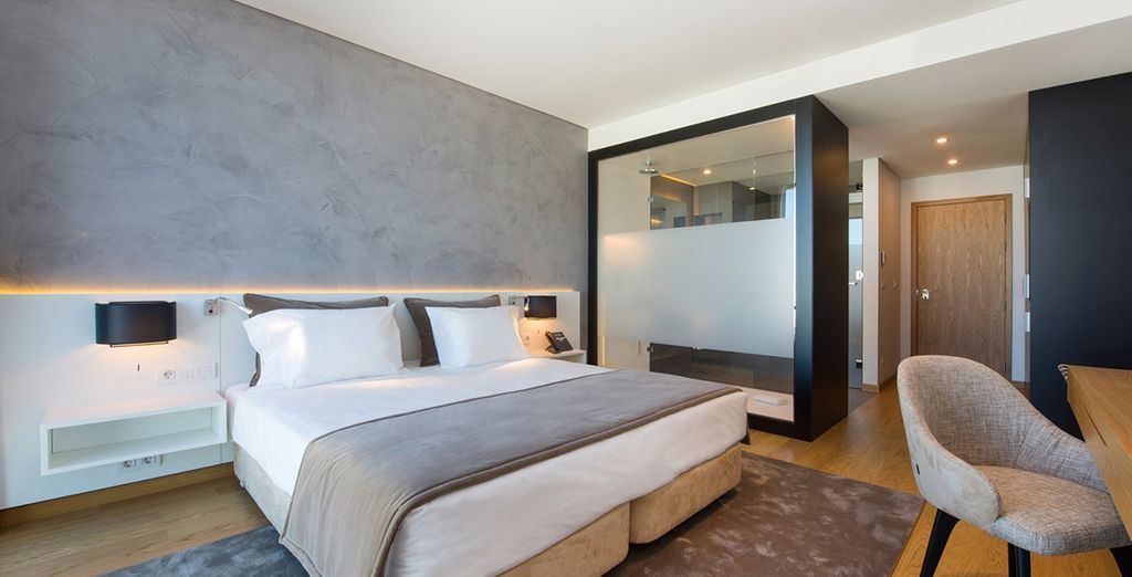 Our members will stay in a Superior Double Room