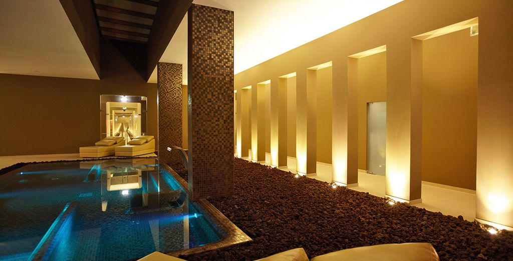 Retreat to the spa - a haven of wellness