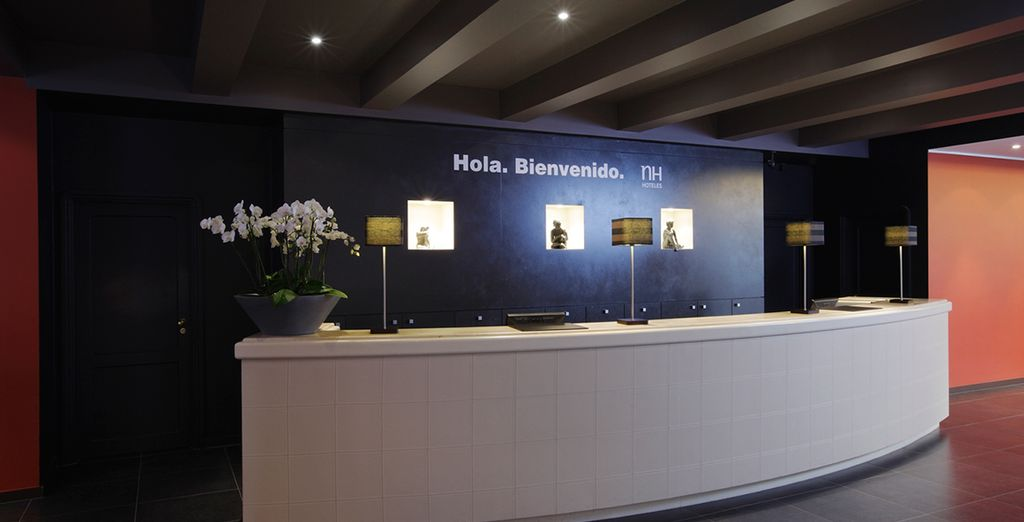 With a stay at NH Gent Belfort 4*