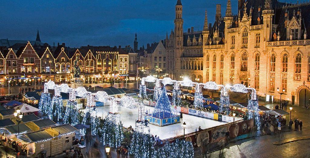 Wander through the Christmas markets