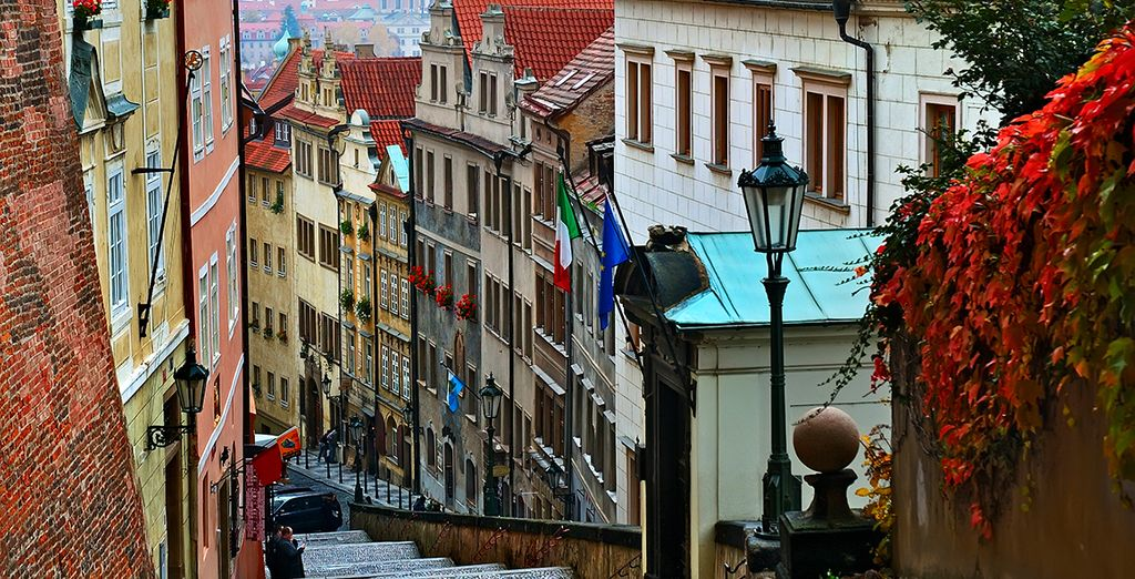 Wander around the old town with charming cobblestone streets and quiet cafes...
