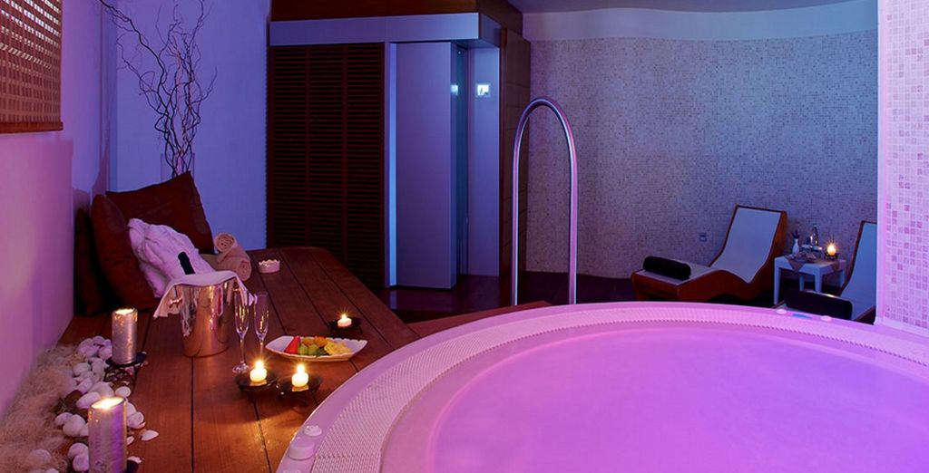 Be it relaxing in the spa