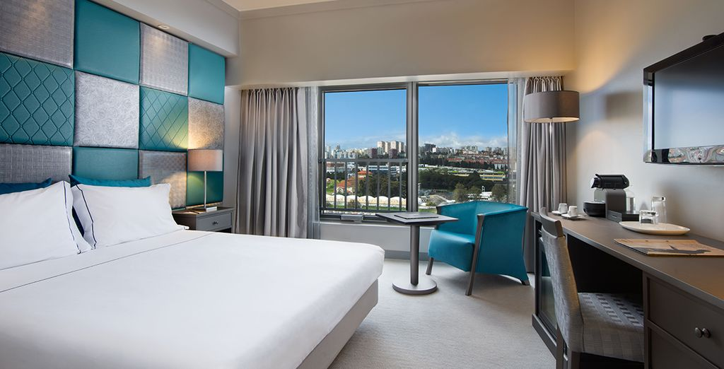 Stay in a Superior Avenue View Room
