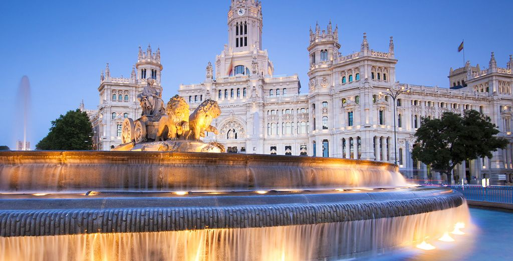 Located in the Salamanca district of Madrid