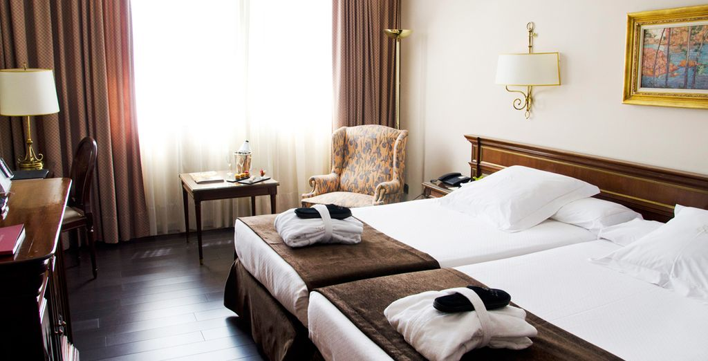 Our members will sleep well in comfortable rooms