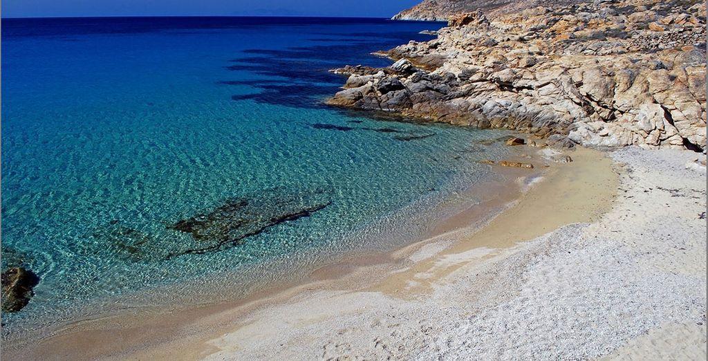 Explore the island's magnificent beaches